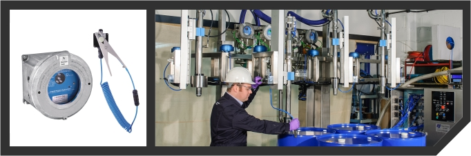 Static Earthing Interlock System