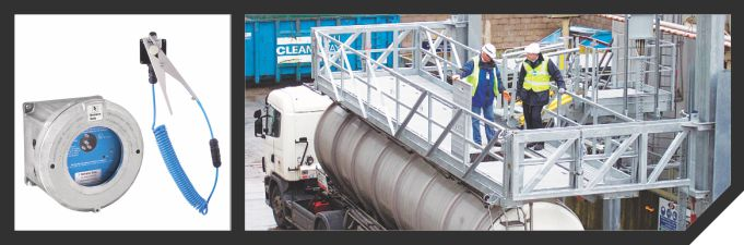 Road Tanker Static Earthing System